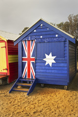 Australian bathing box