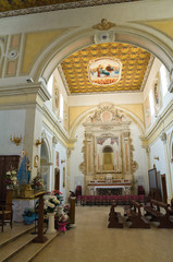 Cathedral of Annunziata. Tursi. Basilicata. Italy.
