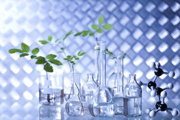 Laboratory glassware equipment, Experimental plant
