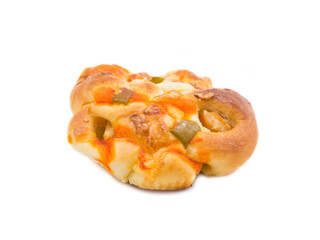 Pizza Bread isolated on white