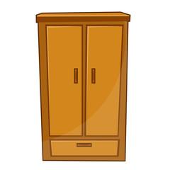 wardrobe isolated illustration