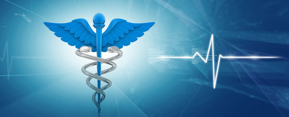 Symbol of medicine .