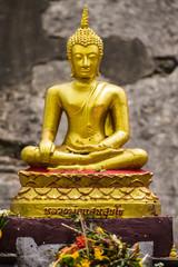 Buddha Statue At Chedi , Wat Chedi Lung Chiangmai