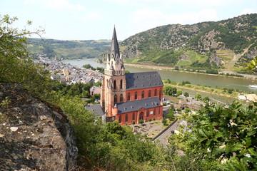 Liebfrauenkirche in Oberwesel (Juli 2013)