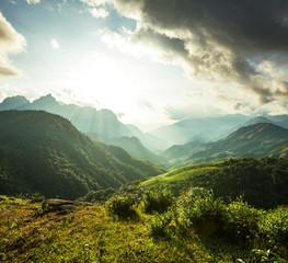 Wall Murals Mountains Mountains in Vietnam