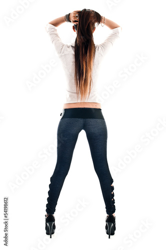 official photos 59dbf 6dab6 ragazza in jeans