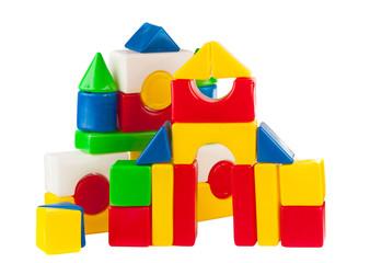 building blocks isolated