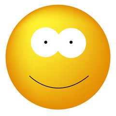 Happy Yellow Smiley Face