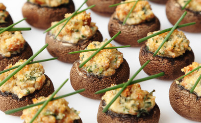 Papiers peints Entree Stuffed Mushrooms