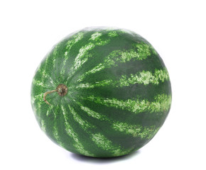 Water melon on a white background. Isolated.