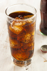 Refreshing Ice Cold Soda Pop