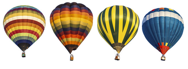 Poster de jardin Montgolfière / Dirigeable hot air balloon