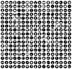 XXL Collection of 289 doodled icons for every occasion No.1