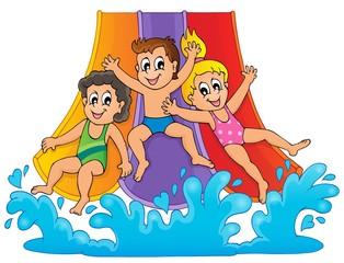 Image with aquapark theme 1