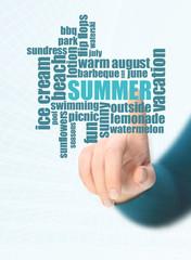 summer word cloud