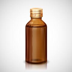 Medicine Syrup Bottle