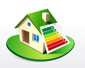 Maison - Diagnostic de performance énergétique (DPE)