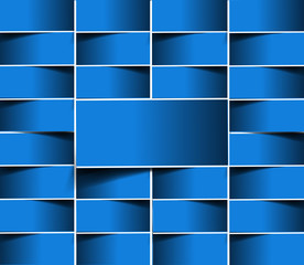 Blue Pattern design