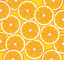 Orangen Scheiben