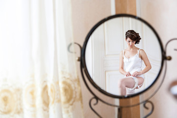bride mirror