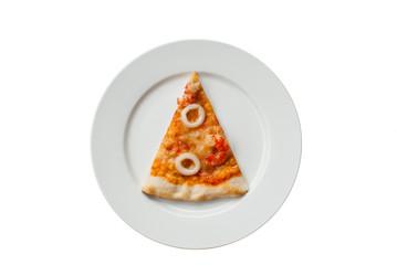 Seafood Pizza Slice