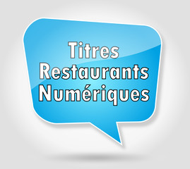 Bulle : Titres Restaurant Numériques