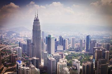 modern city in Kuala Lumpur