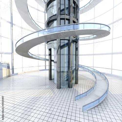 Futuristische architektur stockfotos und lizenzfreie bilder auf bild 54330417 - Futuristische architektur ...