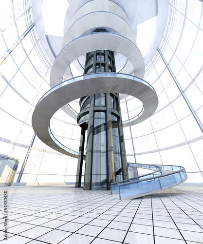 Futuristische architektur stock photo and royalty free images on pic 54330430 - Futuristische architektur ...