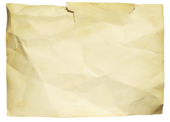 Old ragged paper