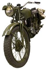 old green bike