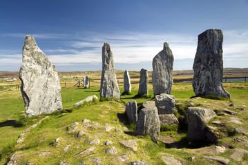 Callanish standing stone circle, Isle of Lewis, Scotland, UK. Wall mural