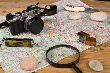 Explorer still life