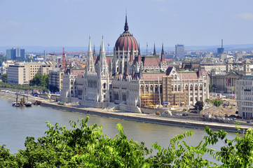 Foto op Plexiglas Buenos Aires Parliament of Budapest