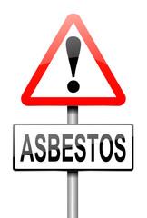 Asbestos concept.