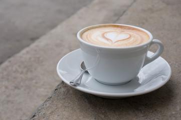 cup of cappucinno