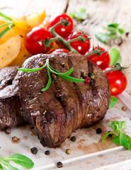 Canvas Prints Delicious beef steak