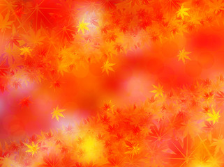 もみじ 紅葉 背景 秋