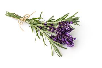 Lavendel Strauß in voller Blüte gebunden