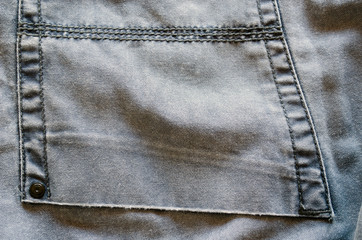 bright jeans trousers pocket piece background