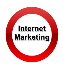 Internet Marketing schild