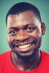 smiling portrait man