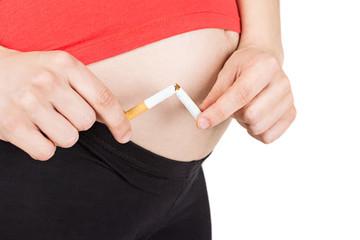 No smoking in pregnancy