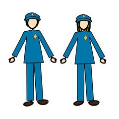 couple of cops
