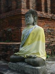 Buddha in Wat Phra That Hariphunchai