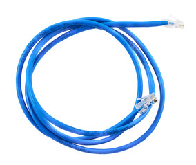 Twisted pair network cable isolated
