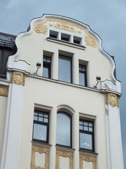 Art nouveau architecture (Riga, Latvia)