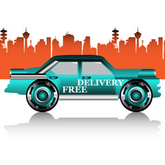 Free delivery car