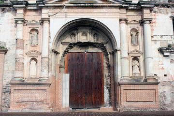 Ruinas de Iglesia entrada frontal