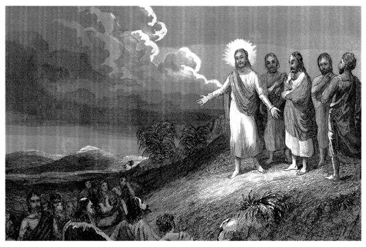 Sermon on the Mount - Sermon sur la Montagne